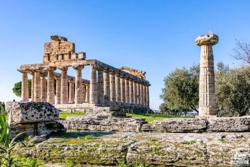 Paestum Tempio di Minerva