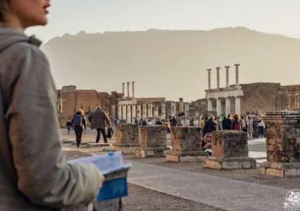 Campania in camper: visitare gli scavi dell'antica Pompei